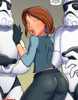 Star wars pornô: Oferecendo cuzinho