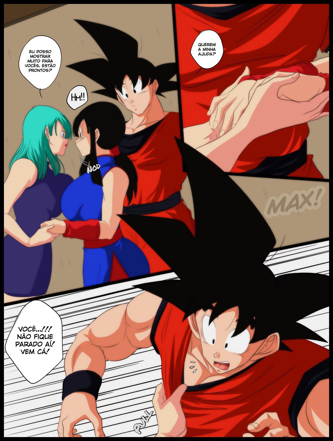 Dragon Ball: Conselhos Amorosos