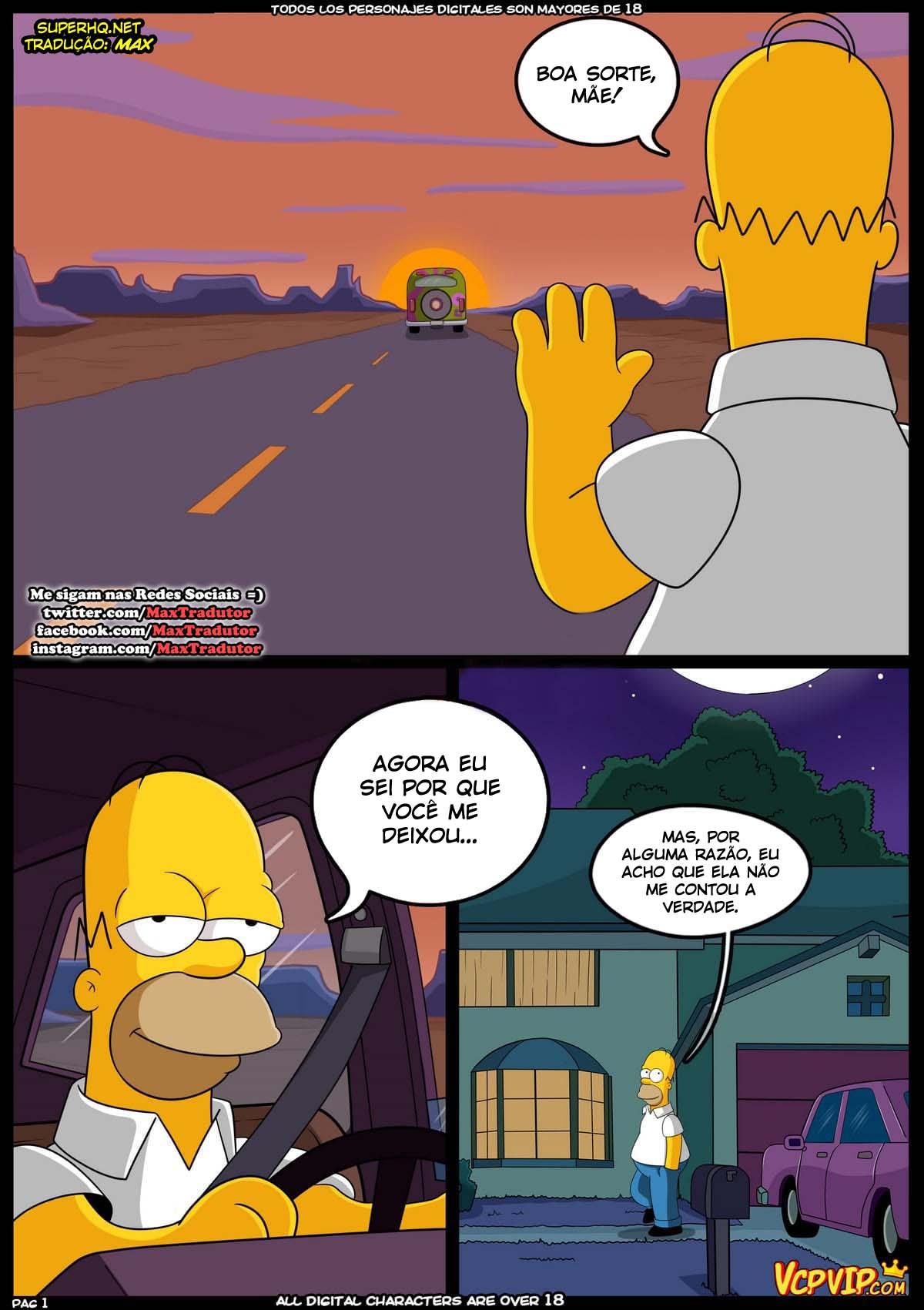 Simpsons: Lembranças incestuosa