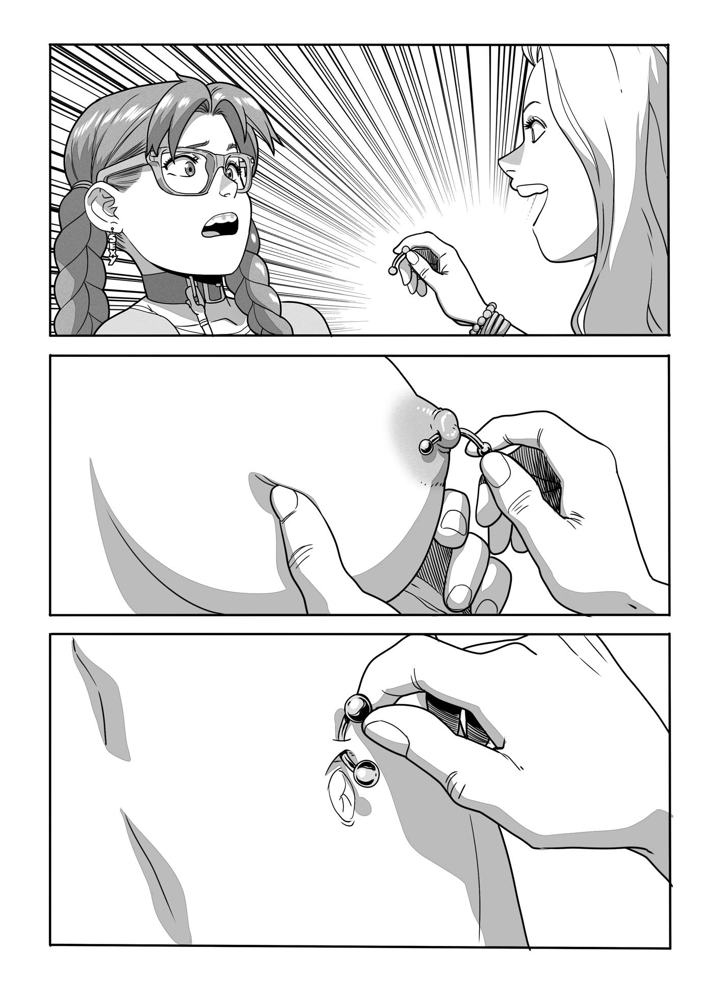 Anna uma Nerd gostosa
