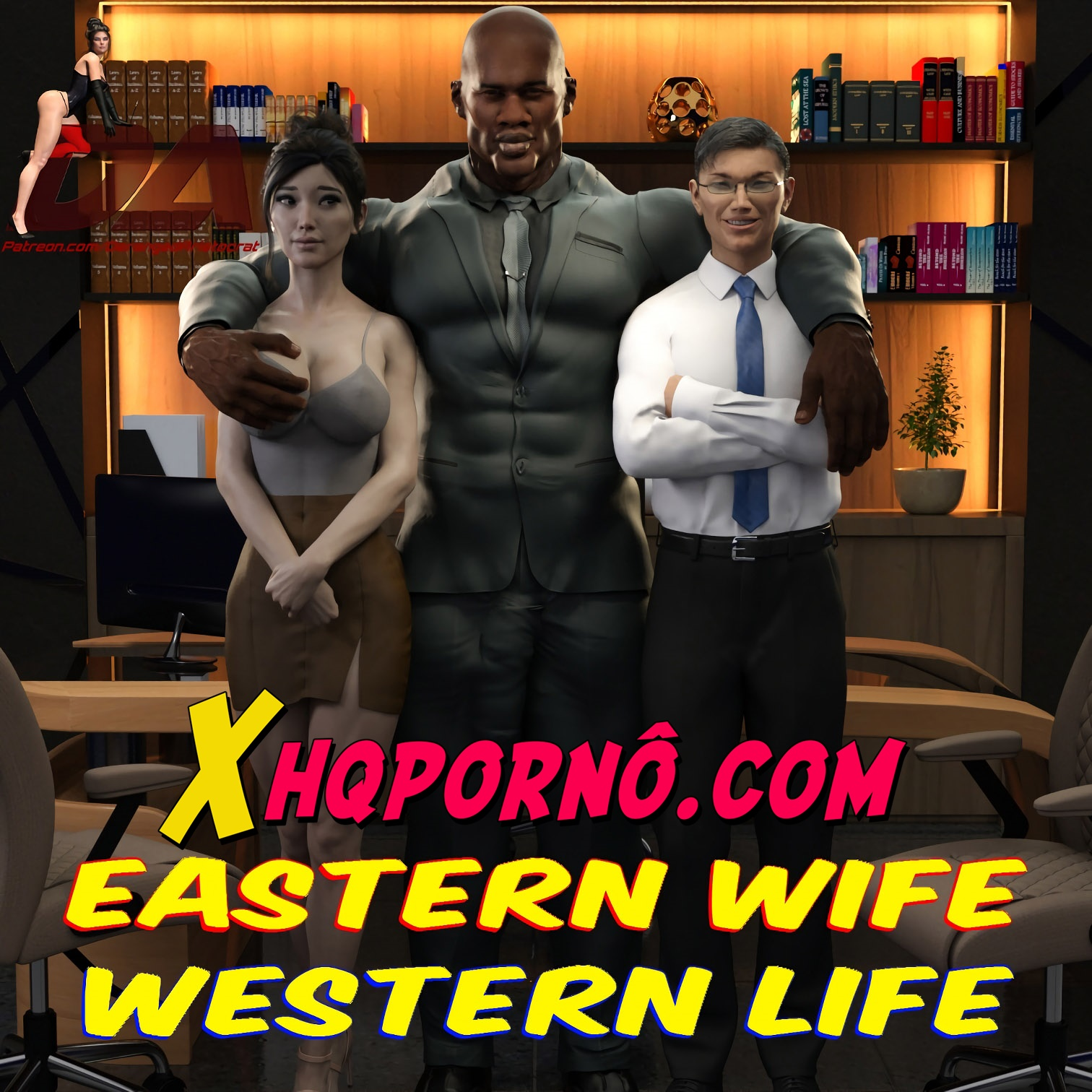 Esposa Oriental vida Ocidental 1